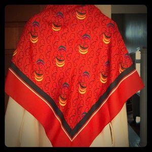 Accessories - Colorful, classy 100% silk scarf